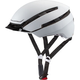 Cratoni C-Loom Casco, white-black rubber